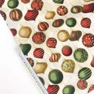 Ткань Новогодние шары