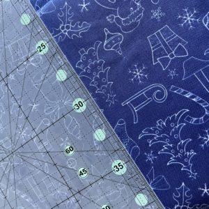Ткань новогодние рисунки