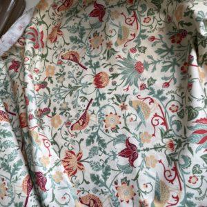Ткань зеленые птицы Morris