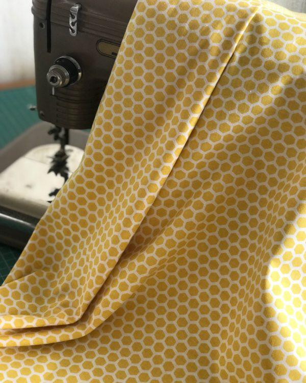 Ткань медовые соты