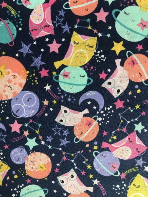Ткань совы в космосе