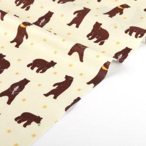 Ткань медведи Dailylike - студия SOVA
