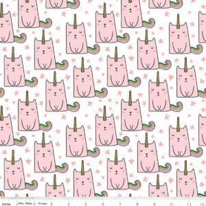 Ткань коты-единороги