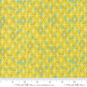 Ткань горчичная мозаика