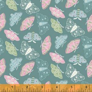 Ткань луговые бабочки