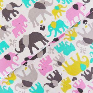 Ткань слоники