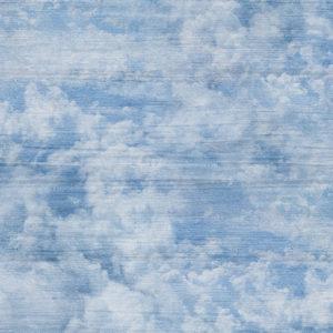Ткань светлые облака