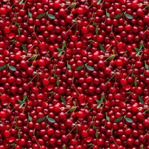 Ткань вишня