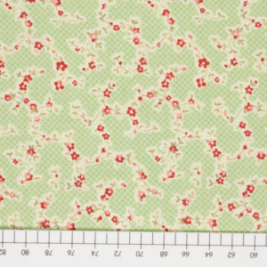 Ткань веточки цветов
