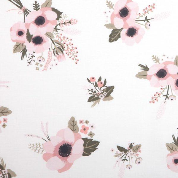 Ткань крупные цветы Dailylike